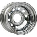 Диск Тойота / Ниссан / Митсубиси стальной хромированный 6x139,7 8xR17 d110 ET-10