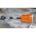Лопата для очистки снега, телескопическая (110х24 см)