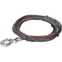 COMEUP Синтетический трос с крюком SK-75, 4 mm x 15.2 m для лебедок ComeUp ATV-1500