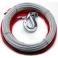 COMEUP Трос стальной с крюком 9.5мм х 25м для DV-12 light