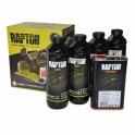 RAPTOR 2K 3:1 Защитное покрытие повышенной прочности, комплект 4+1 л U-Pol Черный