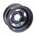 Диск усиленный УАЗ стальной черный 5x139,7 8xR16 d110 ET-25 (треуг.)