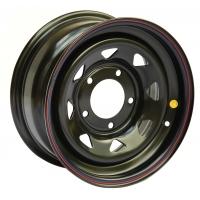 Диск усиленный УАЗ стальной черный 5x139,7 10xR16 d110 ET-44 (треуг. мелкий)
