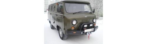 Силовые бампера УАЗ Буханка