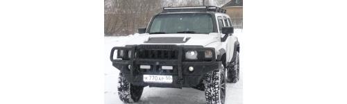 Силовые бампера Hummer